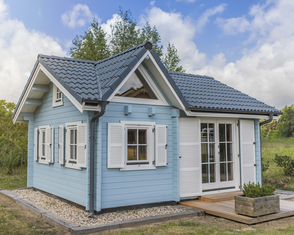 24qm blockhaus rügen - havel-haus